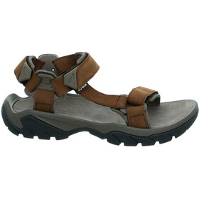 Teva Terra Fi 5 Universal Leather Sandals Men Carafe